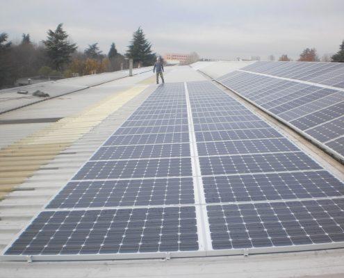 iimpianto fotovoltaico azienda