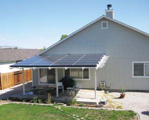 pergola fotovoltaico cubo energia